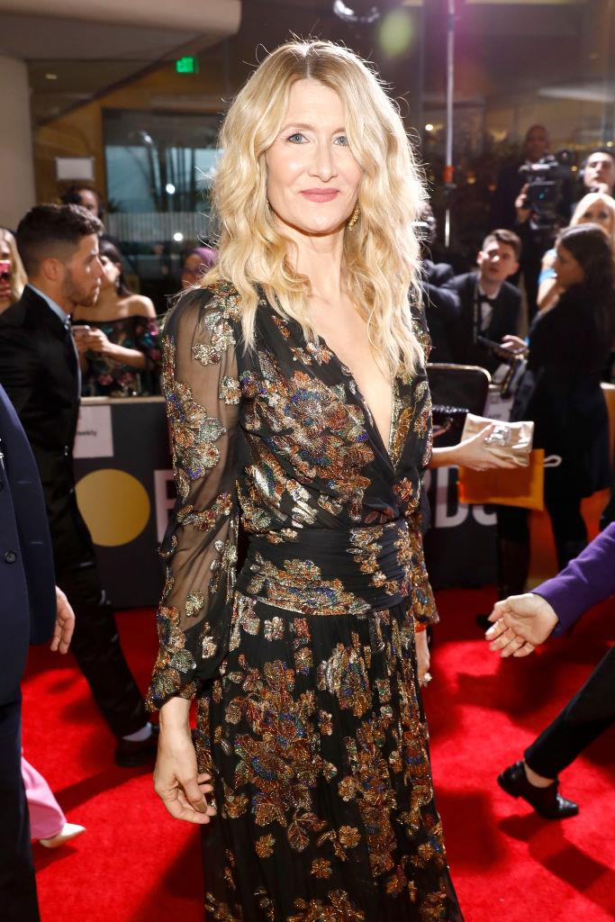"""**Laura Dern** <br><br> Oscar-winning actress Laura Dern doesn't technically have a TikTok account, but she definitely has a popular presence on the app after appearing in videos made by her 15-year-old daughter, [Jaya Harper](https://www.tiktok.com/@jayaharper?lang=en