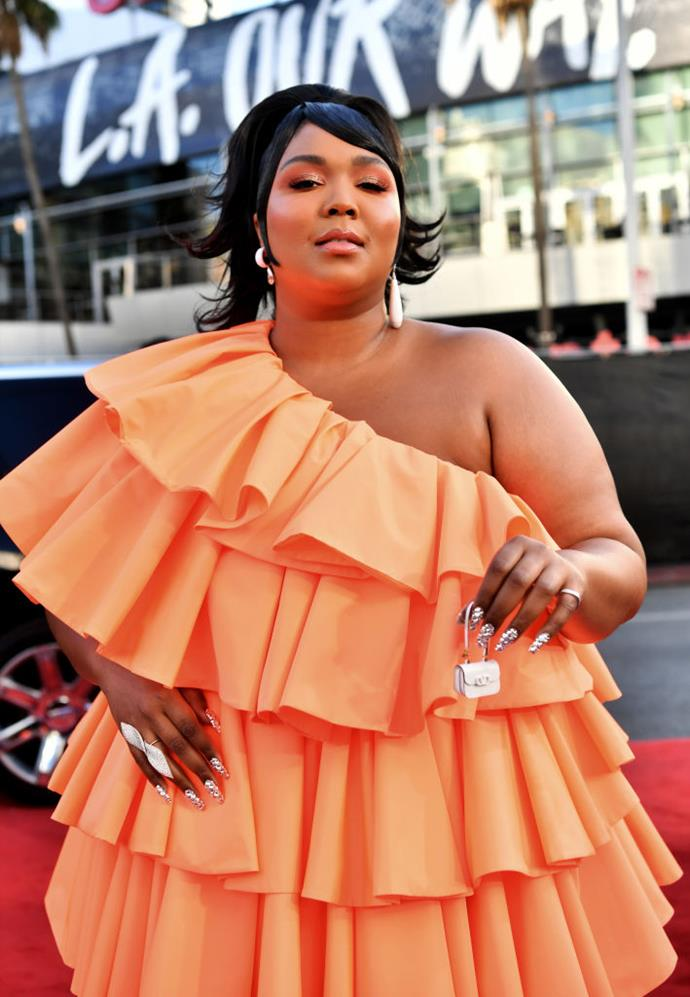 """**Lizzo (*[@lizzo](https://www.tiktok.com/@lizzo