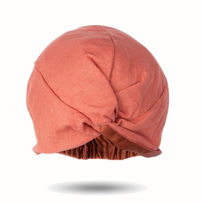 "**Signature silk hair turban™ by Damn Gina, $54.95 at [Damn Gina](https://www.damngina.com.au/products/silk-turban|target=""_blank""