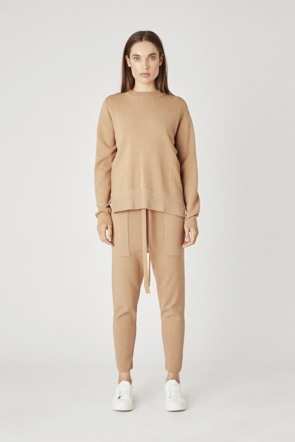 """[Warm 'Charlton' crew](https://fave.co/3eC5hJv target=""""_blank"""" rel=""""nofollow""""), $329, ['Charlton' relaxed viscose pant](https://fave.co/3cwP8Dt target=""""_blank"""" rel=""""nofollow""""), $300, both by [CAMILLA AND MARC](https://fave.co/3aiEdfa target=""""_blank"""" rel=""""nofollow"""")."""