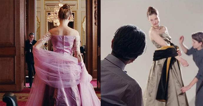 ***Phantom Thread* (2017)** <br><br> In his final film before retirement, Daniel Day-Lewis plays an obsessive-compulsive dressmaker for the wealthy in 1950s London. The film provides an honest insight into how much work actually goes into creating couture garments, and for fashion lovers, watching it is almost an emotional experience.