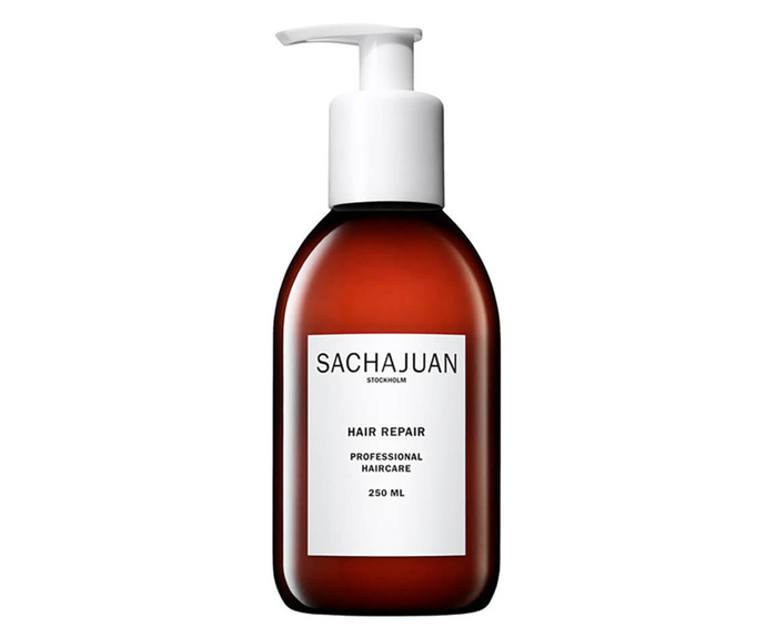 "**Hair Repair by Sachajuan, $46 at [MECCA](https://www.mecca.com.au/sachajuan/hair-repair/I-040723.html?cgpath=hair-treatments|target=""_blank"")**<br></br> Repair is in the name for good reason—this ocean silk technology-driven treatment promotes reparative growth, all while providing significant moisture."
