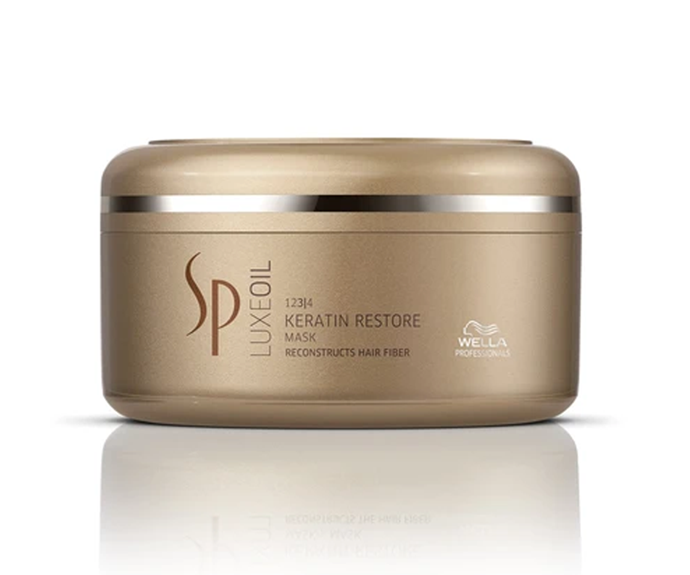 """**Luxe Oil Keratin Restore Mask by Wella, $38.95 at [Adore Beauty](https://www.adorebeauty.com.au/wella-sp/wella-sp-luxeoil-keratin-restore-mask.html target=""""_blank"""")**<br></br> If deep, smoothing hydration is what you're after, this formula delivers it in spades, strengthening fragile dry ends and protecting the hair's keratin."""