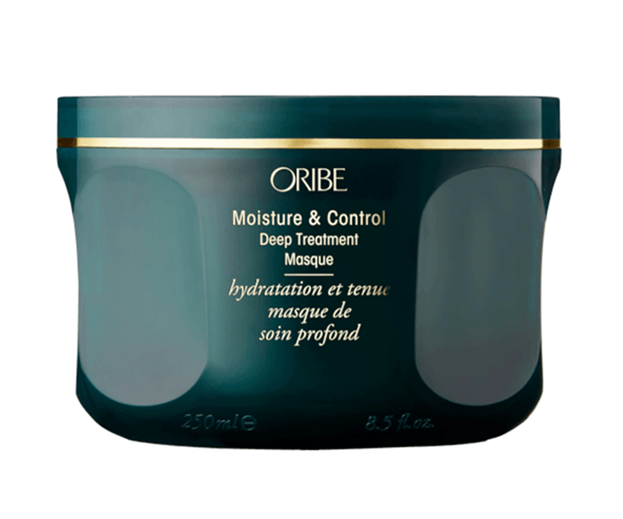 "**Moisture & Control Deep Treatment Masque by Oribe, $92 at [Adore Beauty](https://www.adorebeauty.com.au/oribe/oribe-deep-treatment-masque.html|target=""_blank"")**<br></br> A hydrating hybrid of natural oils and butters, this deep conditioning cuticle-sealing treatment is practically the gold standard in moisturising masks."