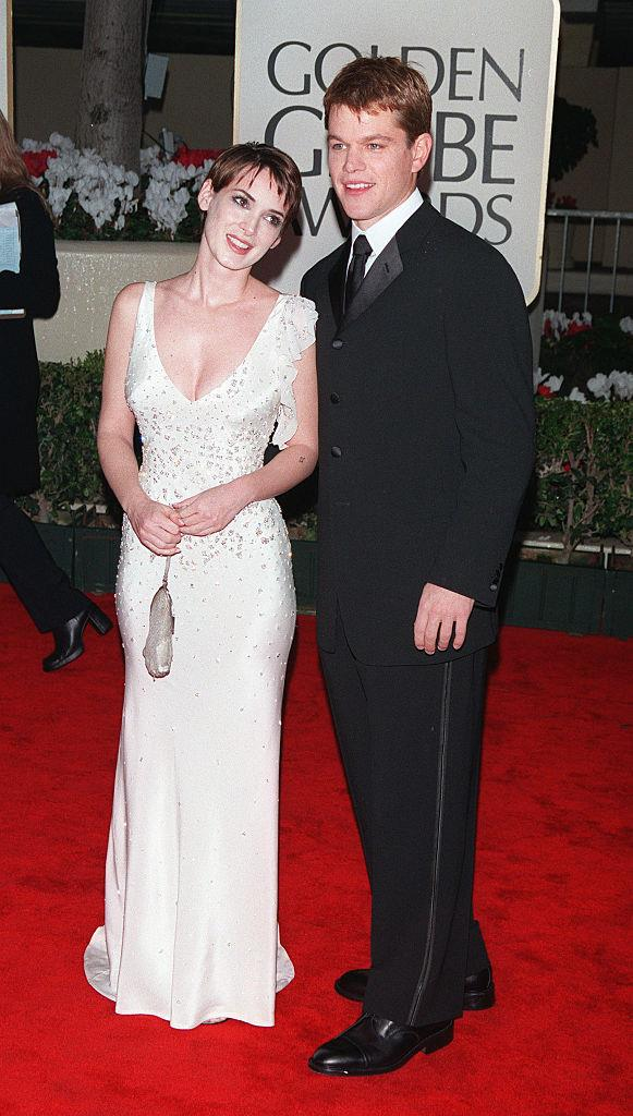 """**Winona Ryder and Matt Damon** <br><br> Ryder and Damon reportedly dated between 1997 and 2000, after allegedly being introduced by Ryder's best friend (and Damon's *The Talented Mr. Ripley* co-star), Gwyneth Paltrow. <br><br> Though Damon has admitted he has nothing but respect for Ryder, he famously admitted that the *Girl, Interrupted* actress would be the last famous woman he'd ever date. In a 2004 [interview](https://www.today.com/popculture/matt-damon-gives-upon-dating-celebrities-wbna5808823