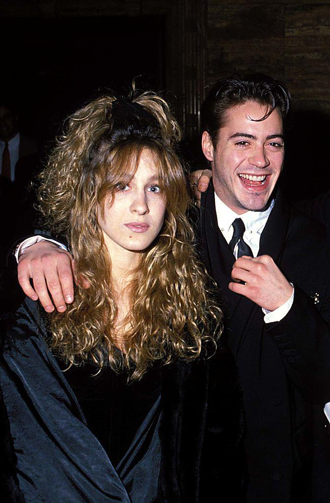 """**Sarah Jessica Parker and Robert Downey Jr.** <br><br> Long before *Sex and the City* made her a household name, Sarah Jessica Parker dated Robert Downey Jr. between 1984 and 1991, after they met on the set of the 1984 film *Firstborn*. The actress has said Downey Jr.'s addiction issues (a topic he's been very candid about in the past) caused complications in the relationship, and in a 2018 interview with *[People](https://people.com/tv/sarah-jessica-parker-on-robert-downey-jr-relationship/