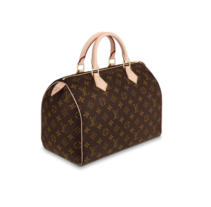 "'Speedy 30' by Louis Vuitton, $1,700 at [Louis Vuitton](https://fave.co/2xUdloK|target=""_blank""|rel=""nofollow"")"