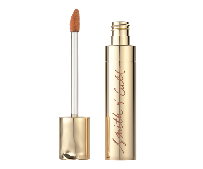 """**The Tainted Lip Stained in Kissing Tiny Flowers by Smith & Cult, $42 at [Sephora](https://www.sephora.com.au/products/smith-and-cult-the-tainted-lip-stained-flatte/v/kissing-tiny-flowers target=""""_blank"""" rel=""""nofollow"""")**<br></br> Nude lips don't need to involve lipsticks—this subtle stain offers a honey hue with a velvety yet non-drying blend."""