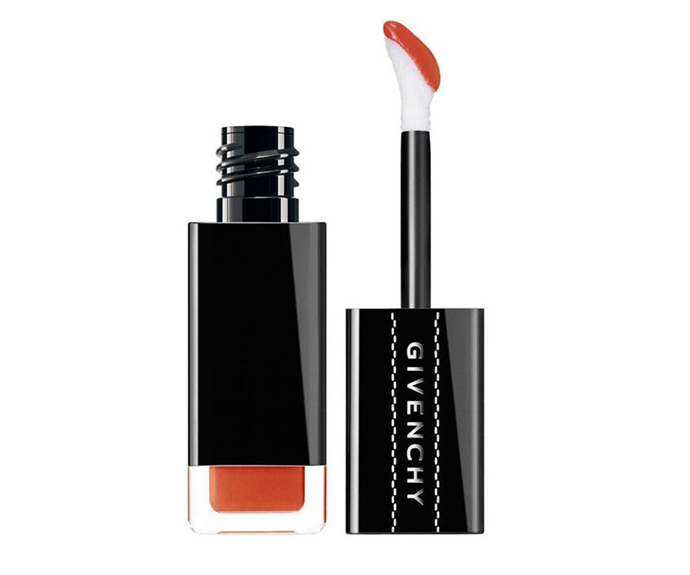 """**Encre Interdite in Solar Stain by Givenchy, $53 at [Myer](https://www.myer.com.au/p/givenchy-lip-ink?colour=N05%20-%20Solar%20Stain target=""""_blank"""" rel=""""nofollow"""")**<br></br> This burnt terracotta shade exists in a touch-up free zone, thanks to its matte finish and waterproof formula."""