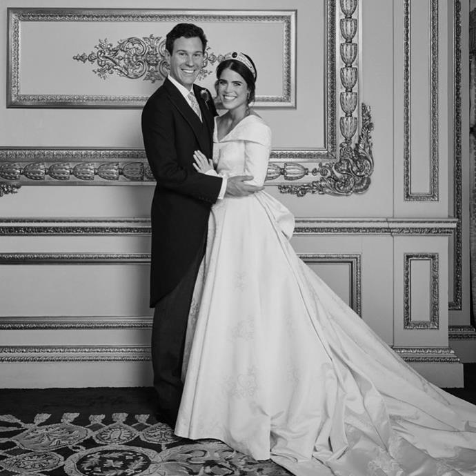 **October 2018** <br><br> Princess Eugenie of York and Jack Brooksbank