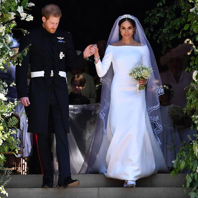 **May 2018** <br><br> Meghan Markle, the Duchess of Sussex and Prince Harry