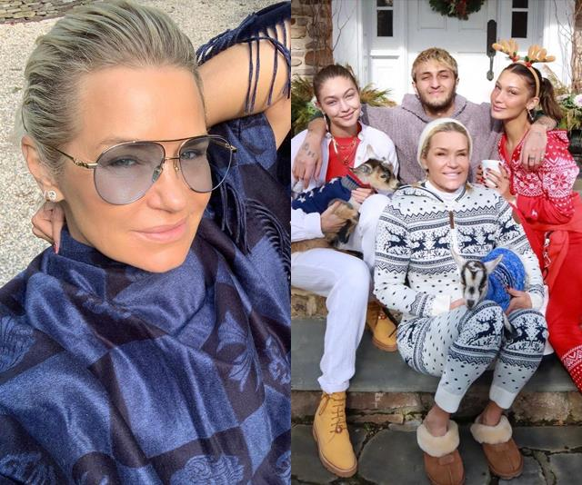 "**Yolanda Hadid** <br><br> **Relationship:** Gigi's Mother <br><br> Another familiar face of the Hadid family is Gigi's mother, Yolanda Hadid. The family is incredibly close, and are known to spend every holiday with each other. In an interview on [Dutch celebrity news TV show *RTL Boulevard*](https://www.rtlboulevard.nl/entertainment/showbizz/artikel/5106481/moeder-gigi-hadid-bevestigt-zwangerschap-dochter-ik-word-oma|target=""_blank""