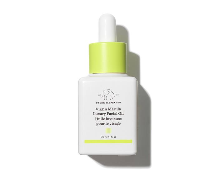 "**Virgin Marula Luxury Facial Oil by Drunk Elephant, $115 at [Mecca](https://www.mecca.com.au/drunk-elephant/virgin-marula-luxury-facial-oil/V-025392.html|target=""_blank""