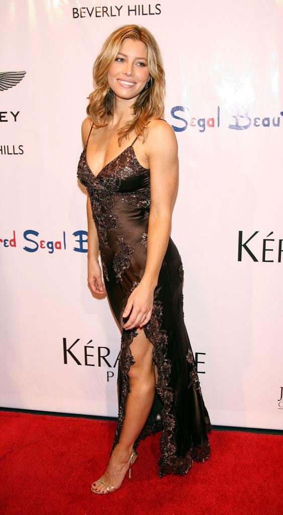 "**Jessica Biel** <br><br> While it's nobody's business how much (or how little) skin a star chooses to show on the red carpet, Jessica Biel has voiced regrets about going ""sexy all the time"" with some of her early red carpet looks (pictured above in 2006). <br><br> In a 2019 interview with *[InStyle](https://www.marieclaire.com.au/jessica-biel-red-carpet