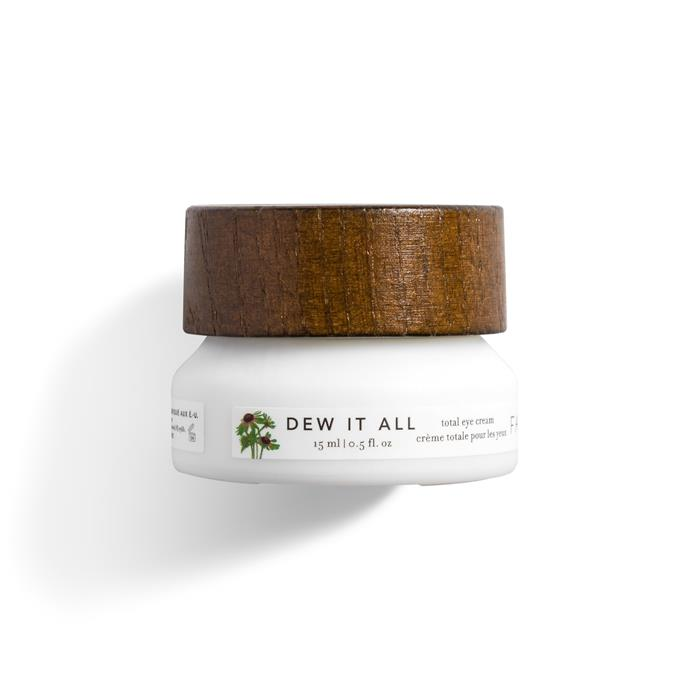 """**Farmacy 'Dew It All' Total Eye Cream**  <br><br> ***Why we love it:*** Farmacy 'Dew It All' Total Eye Cream is a formidable opponent against under-eye dark circles. It's formulated with antioxidants to help protect the skin by supporting natural [collagen](https://www.harpersbazaar.com.au/beauty/collagen-powders-16936