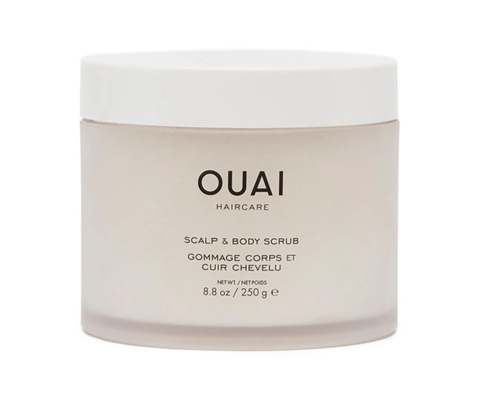 "**Scalp & Body Scrub by Ouai, $63.97 at [Revolve](https://www.revolveclothing.com.au/ouai-scalp-body/dp/OUAR-WU69/|target=""_blank""