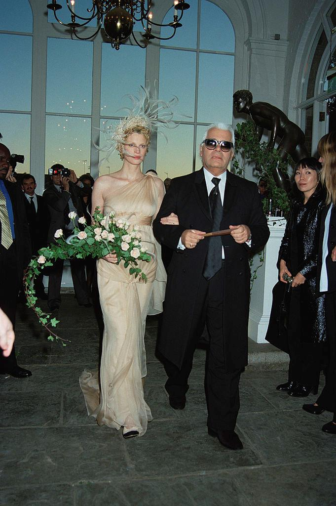 """**Kristen McMenamy (1997)** <br><br> To have [Karl Lagerfeld](https://www.harpersbazaar.com.au/fashion/chanel-muses-18243