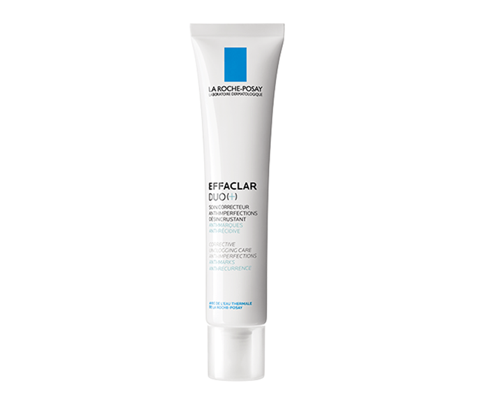 "**Effaclar Duo (+) Acne Moisturiser by La Roche-Posay, $31.95 at [Adore Beauty](https://www.adorebeauty.com.au/la-roche-posay/la-roche-posay-effaclar-duo-corrective-and-unclogging-care.html|target=""_blank""