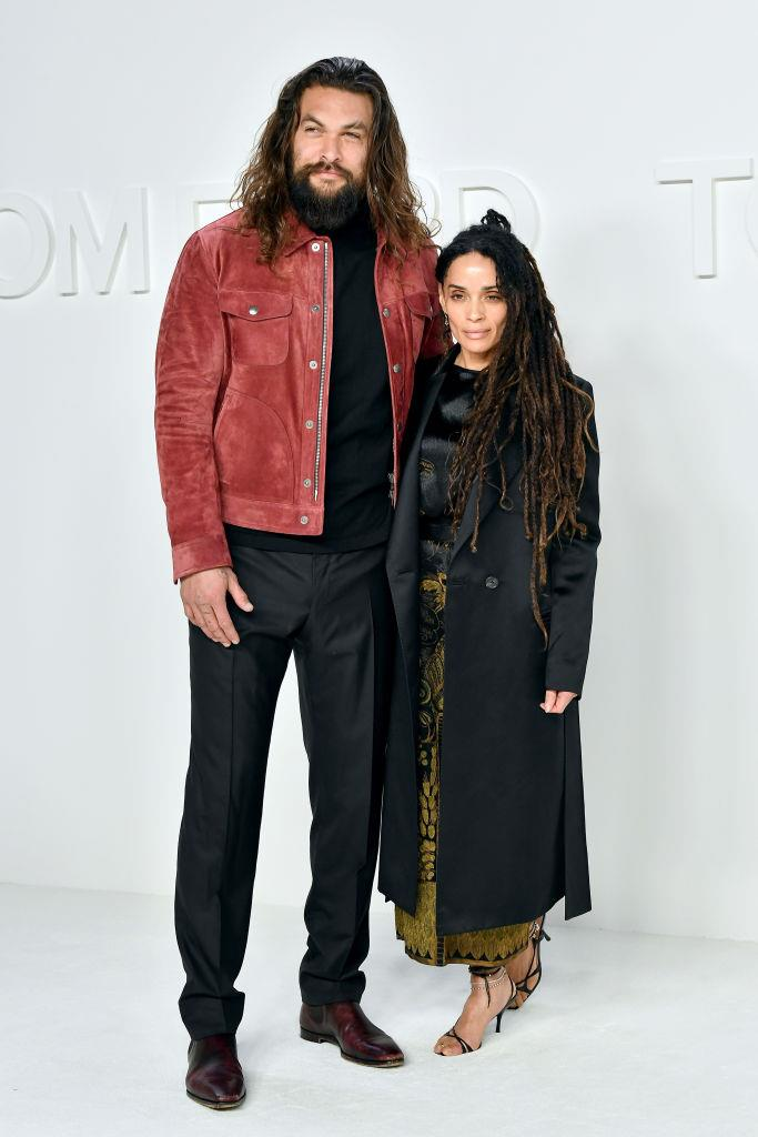 **Lisa Bonet, 52, and Jason Momoa, 40**<br><br>  **Age difference:** 12 years<br><br>  *The Cosby Show* actress Lisa Bonet, 52, and *Game of Thrones* star Jason Momoa, 40, met in a jazz club in 2005, tied the knot in 2017, and have been together ever since. The couple also have two children together, a daughter named Lola, and a son named Nakoa-Wolf.