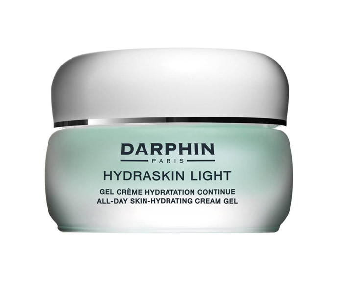 "**Hydraskin Light Cream Gel by Darphin, $79 at [MECCA](https://www.mecca.com.au/darphin/hydraskin-light-cream-gel/V-002540.html|target=""_blank""