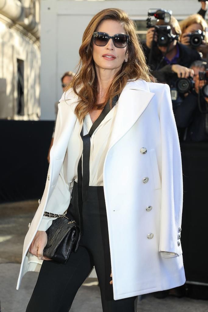 **Cindy Crawford** <br><br> '90s super Cindy Crawford grew up in rural Michigan, and later enrolled at the prestigious Northwestern University to study chemical engineering. However, she eventually dropped out of college to pursue modelling, eventually moving from Chicago to New York and walk for the likes of Versace and Chanel.