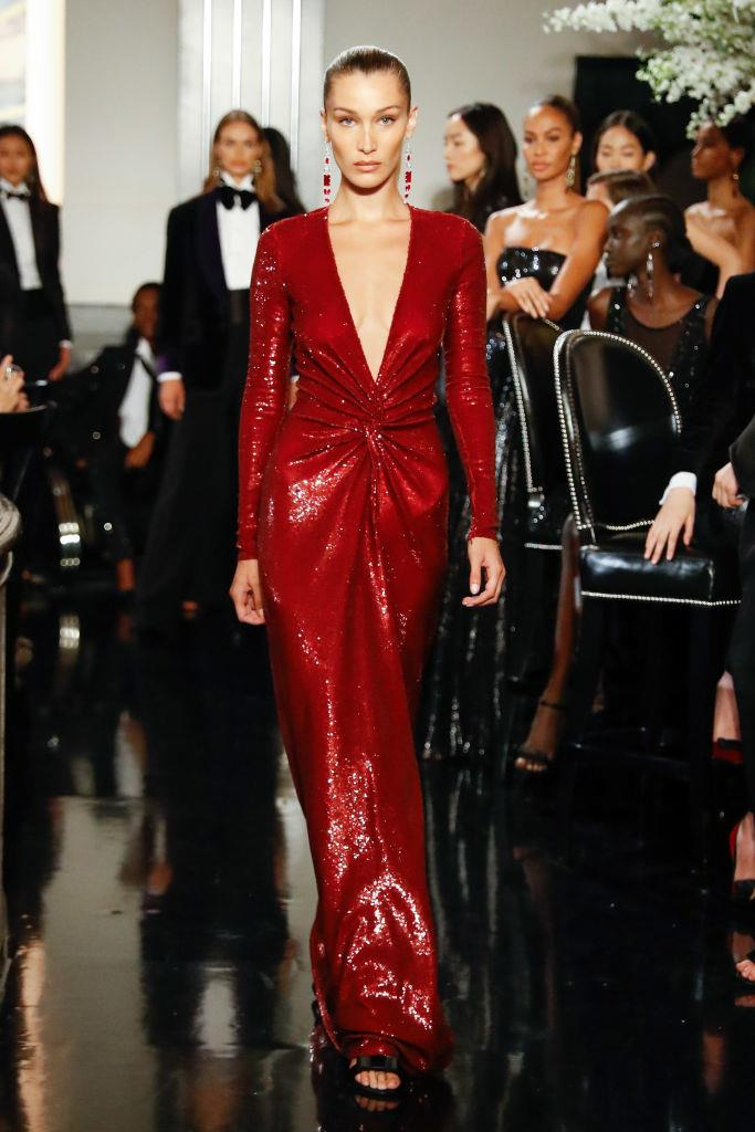 **Bella Hadid** <br><br> Hadid initially wanted to become a professional equestrian, and was working towards competing in the 2016 Olympics before her Lyme disease diagnosis caused her to give up the sport. In 2014, at 18 years old, she moved to New York to study photography at Parsons School of Design (one of the most prestigious design schools in America), but soon dropped out when a modelling career beckoned.