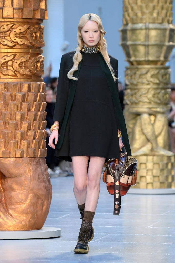 **Fernanda Ly** <br><br> Once known for her trademark pink hair, Ly made her runway debut as an exclusive for Louis Vuitton at the brand's spring/summer '16 show and has since gone on to enjoy a successful career. However, the Australian It-girl actually used to attend University of Technology Sydney (UTS), where she studied architecture.