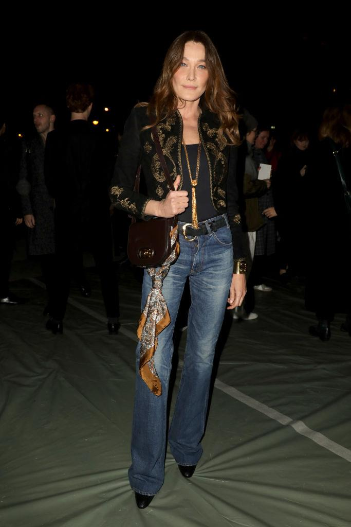 **Carla Bruni** <br><br> One of the most prolific '90s supermodels, Bruni studied art at college in Paris, until the modelling world came calling when she was 19 years old. Later in life, she married French president Nicolas Sarkozy and consequently became the First Lady of France—not to mention, also becoming well-known for her successful music career.