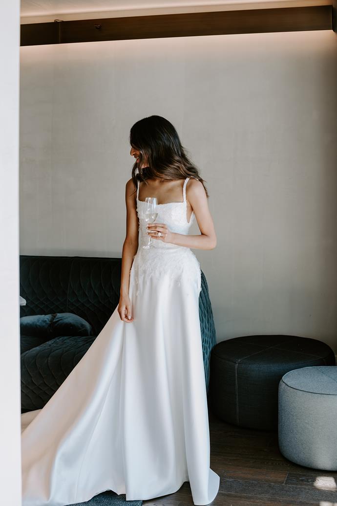 *Natalie in her dress.*