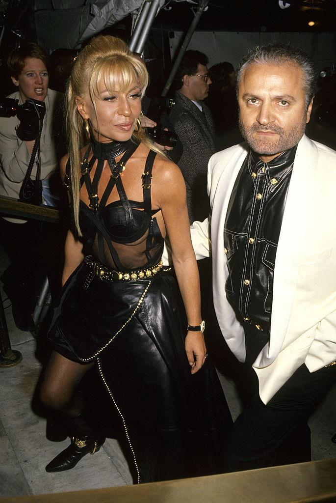 """**Gianni Versace and Donatella Versace** <br><br> Though Gianni Versace frequently dressed the likes of Naomi Campbell and Cindy Crawford, his favourite muse was none other than his younger sister, [Donatella](https://www.harpersbazaar.com.au/fashion/donatella-versace-young-16609