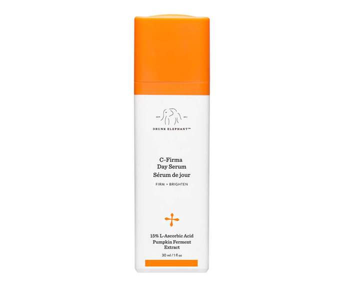 "**C-Firma™ Day Serum by Drunk Elephant, $128 at [MECCA](https://www.mecca.com.au/drunk-elephant/c-firma-day-serum/I-025393.html|target=""_blank""