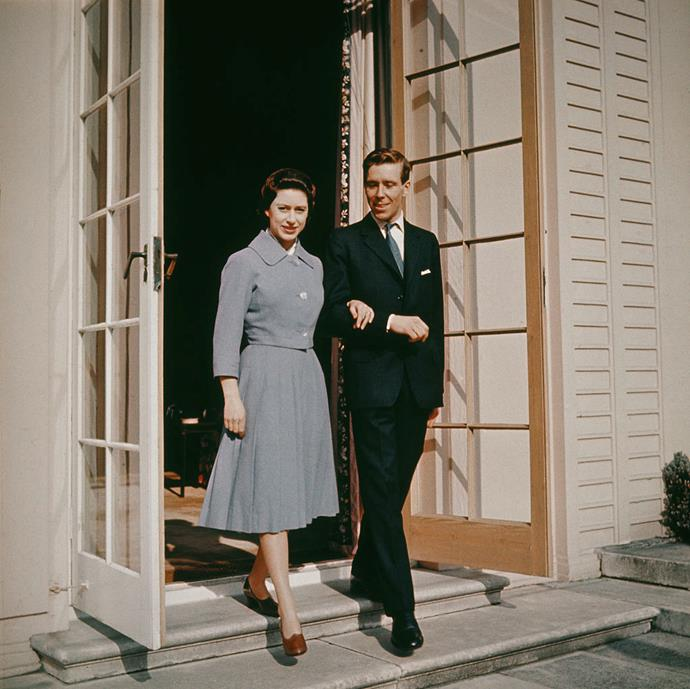 Princess Margaret and Antony Armstrong-Jones (or Lord Snowdon) in 1960.