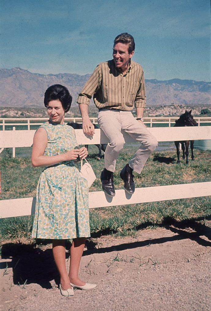 Princess Margaret and Lord Snowdon in Arizona in 1965.