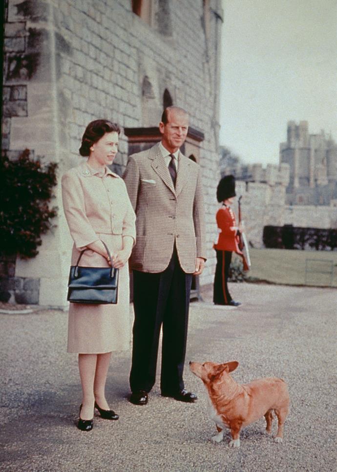 Queen Elizabeth II and Prince Philip, Duke of Edinburgh in 1959.