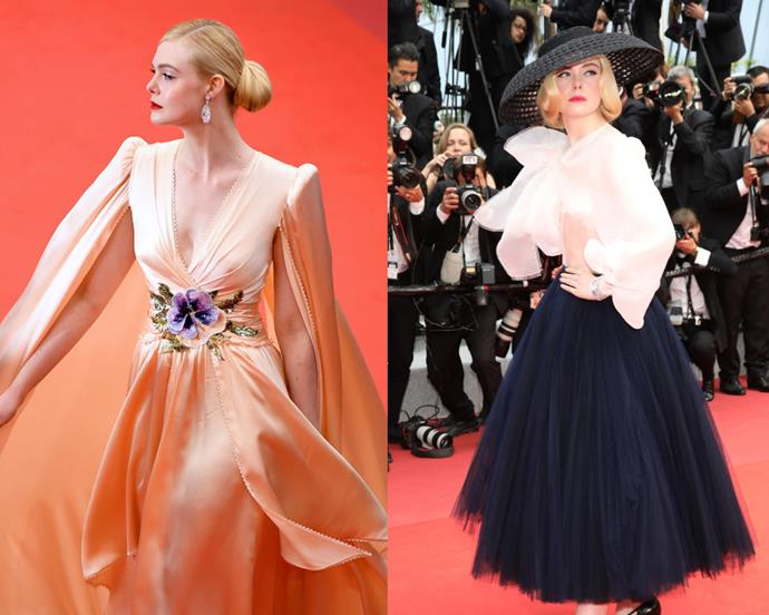 """**Elle Fanning** <br><br> Since starring in films like *I Am Sam* and *Super 8*, Fanning practically grew up on the red carpet, and has streamlined her wardrobe choices to match. Nowadays, we can always count on Fanning for a stellar red carpet moment, and the 21-year-old frequently sports glamorous, [Old Hollywood](https://www.harpersbazaar.com.au/bazaar-bride/old-hollywood-wedding-dresses-19789