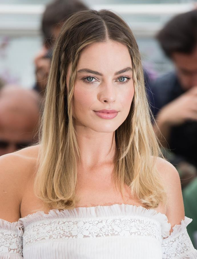 "**Margot Robbie at the 2019 Cannes Film Festival**<br><br>  Although the beauty looks themselves weren't 'dramatic', Robbie gained significant attention for [*Once Upon a Time in Hollywood*](https://www.elle.com.au/culture/once-upon-a-time-in-hollywood-cast-20216|target=""_blank"") when it became apparent that the actress had been quietly [channelling](https://www.elle.com.au/culture/once-upon-a-time-in-hollywood-cast-20216