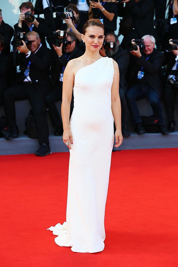 Natalie Portman in Dior at the 2016 Venice Film Festival.