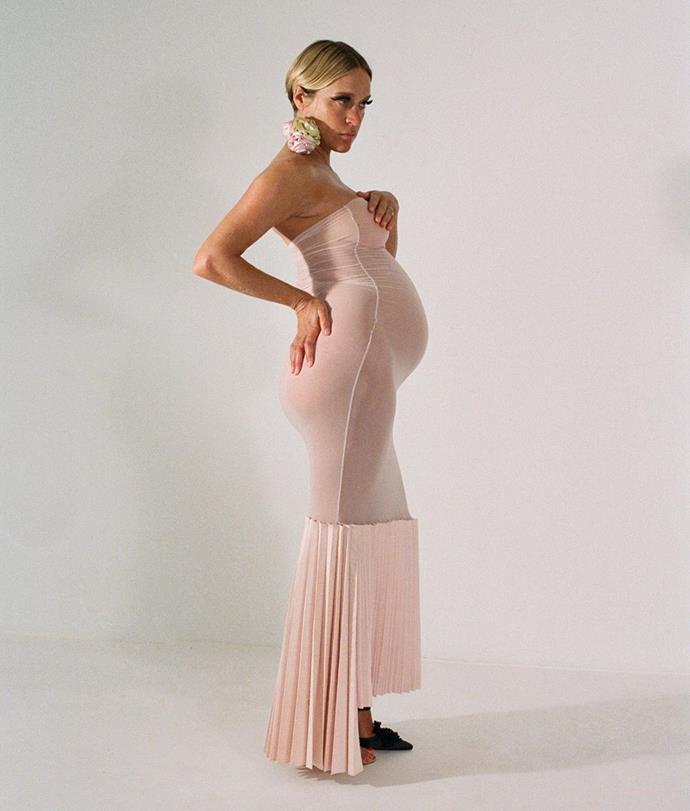 "Chloë Sevigny in Sarah Aphrodite before the birth of her [son, Vanja Sevigny Mačković](https://www.harpersbazaar.com.au/celebrity/chloe-sevigny-gives-birth-20265|target=""_blank""), in early 2020. <br><br> *Image: Instagram [@chloesevigny](https://www.instagram.com/p/B_FcyJInMwa/|target=""_blank""|rel=""nofollow"")*"