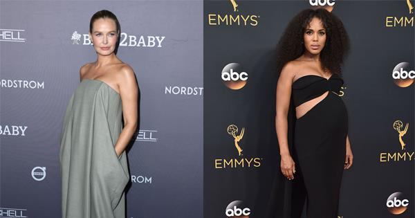 27 Of The Most Underrated Celebrity Maternity Style Moments