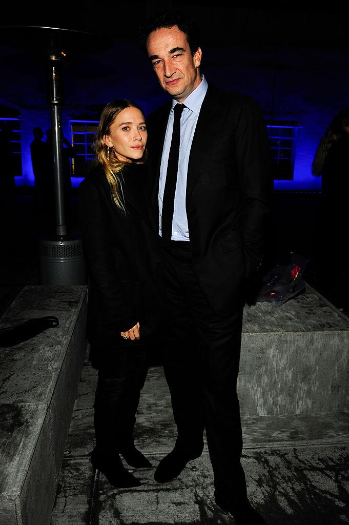 """**Mary-Kate Olsen and Olivier Sarkozy**<br><br>  The Row designer wed banker Olivier Sarkozy in 2015 in a private residence in Manhattan, with around 50 guests [reportedly](https://www.eonline.com/news/719630/mary-kate-olsen-is-married-actress-weds-olivier-sarkozy-report