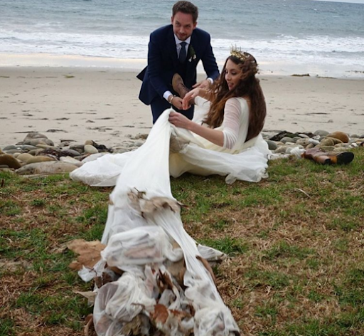 """**Troian Bellisario and Patrick J. Adams**<br><br>  *Pretty Little Liars* actress Troian Bellisario and *Suits* star Patrick J. Adams [wed](https://www.elle.com.au/celebrity/troian-bellisario-patrick-j-adams-wedding-5334