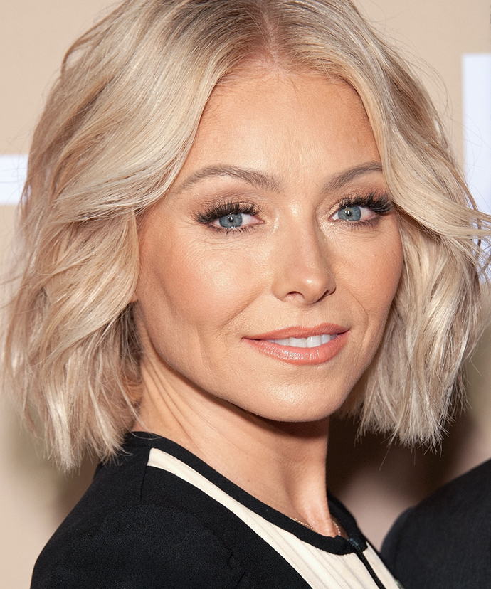 """**Kelly Ripa**<br></br> """"I got Botox because people kept saying 'are you okay?' and I'm like, 'I'm fine, why?' [and they would say] 'you look like you're angry',"""" Ripa has revealed. """"I was like 'it's time to get Botox.'"""""""