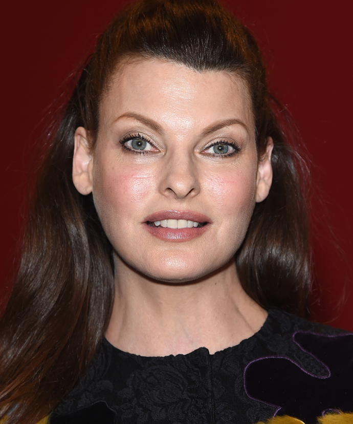 """**Linda Evangelista**<br></br> """"I was the first person to ever admit that I did Botox, and my mum was upset,"""" Evangelista has admitted. """"I said, 'mum, everybody does it,' and she was like, 'yeah but they don't say it.' So if I was the first one to tell the truth about using it then, why would I lie about it now?"""""""
