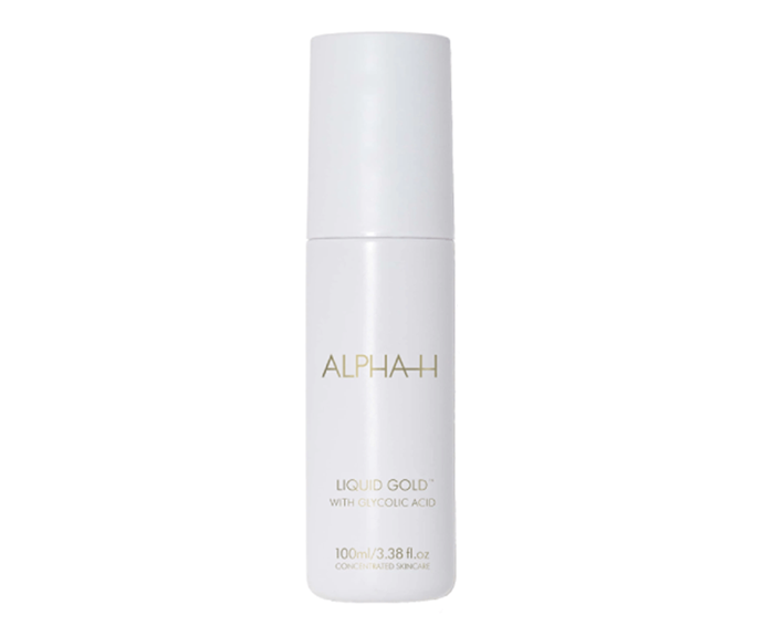 """**Liquid Gold by Alpha-H, $59.95 at [Adore Beauty](https://www.adorebeauty.com.au/alpha-h/alpha-h-liquid-gold.html