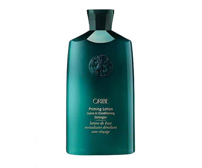"**Priming Lotion Leave-In Conditioning Detangler by Oribe, $57 at [David Jones](https://www.davidjones.com/Product/22921657/Oribe-Priming-Lotion-LeaveIn-Conditioning-Detangler|target=""_blank""