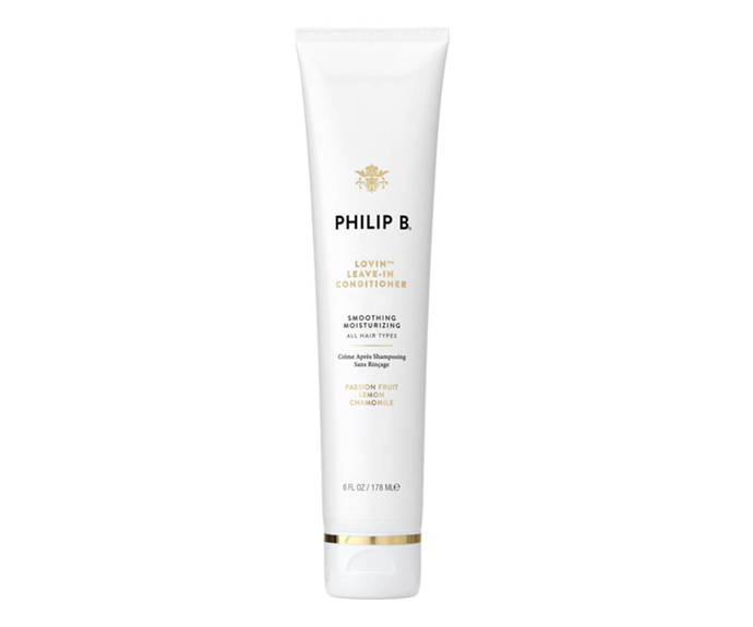 "**Lovin' Leave-In Conditioner by Philip B., $45 at [MECCA](https://www.mecca.com.au/philip-b/lovin-leave-in-conditioner/I-038890.html|target=""_blank""