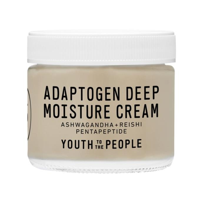 """**Adaptogen Deep Moisture Cream 59ml by Youth to The People, $87 at [Sephora](https://fave.co/2TNi574