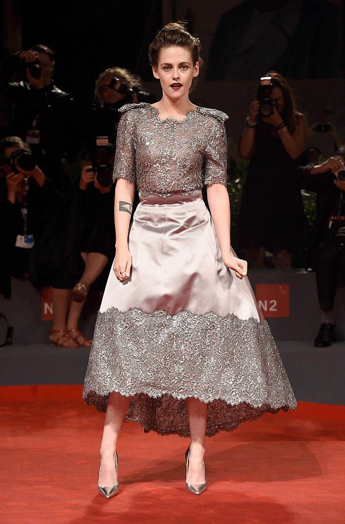 Kristen Stewart in Chanel (2015)