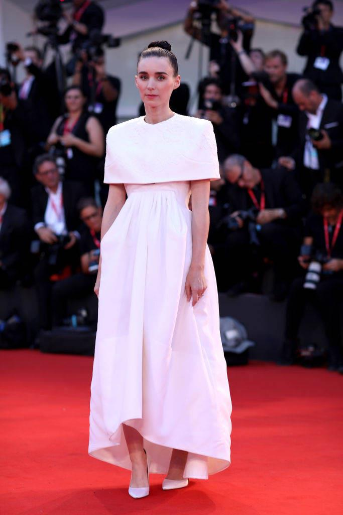Rooney Mara in Givenchy Haute Couture (2019)