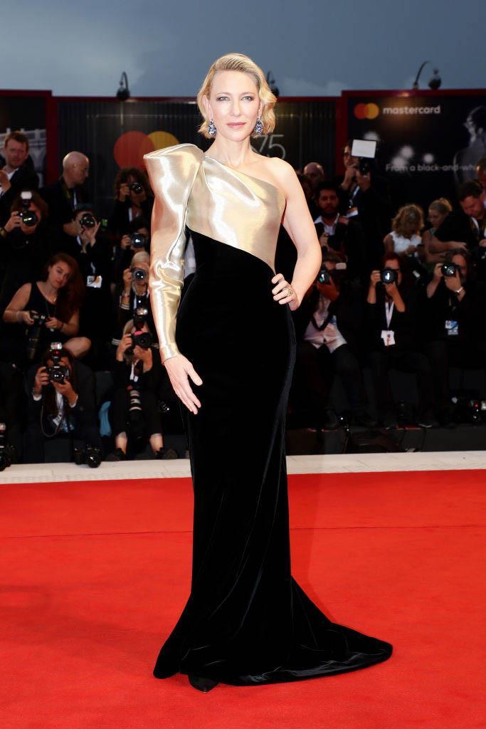 Cate Blanchett in Armani Privé (2018)
